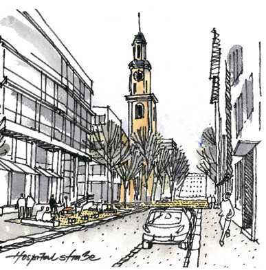Masterplan - Hospitalstraße